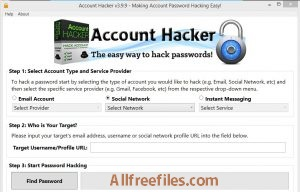 facebook account hacking software