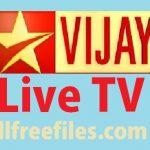 Vijay live tv streaming download