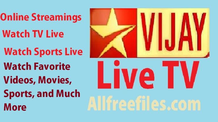 vijay live tv streaming